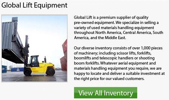 Cat High Capacity Forklift